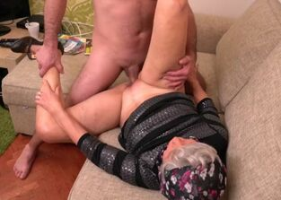 Dirty granny anal