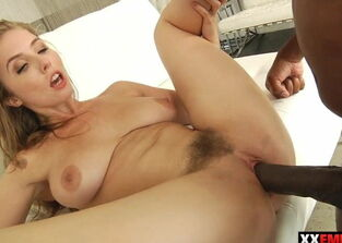 Very first time with big black cock